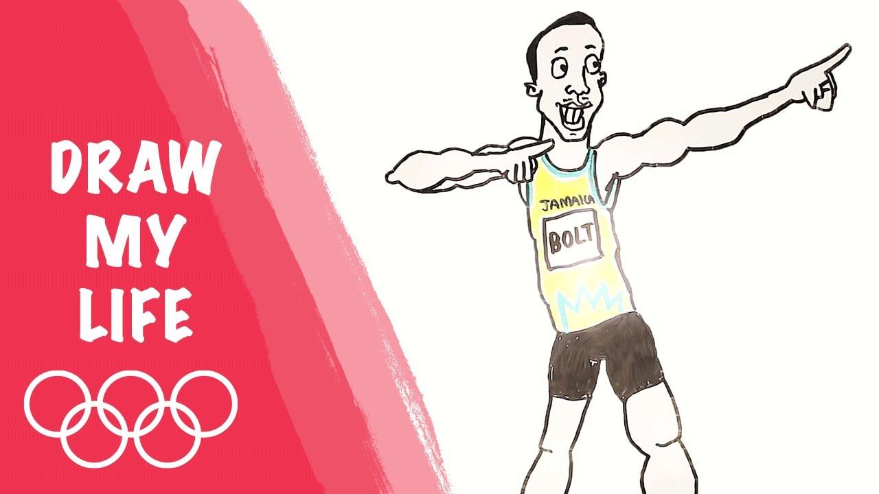 Usain Bolt Draw My Life
