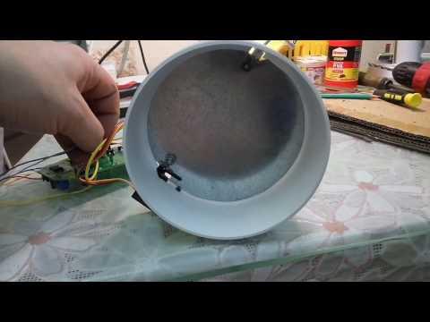 Заслонка с электроприводом для вентиляции