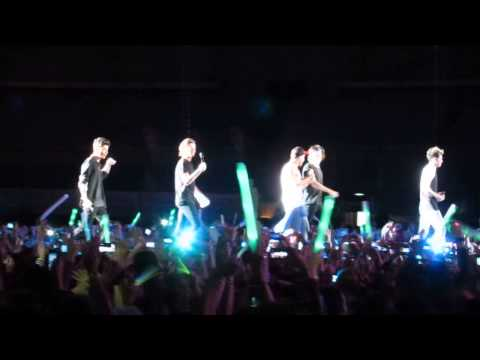One Direction - Live While We're Young en Montevideo Uruguay 06-05-14