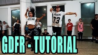 GDFR - Flo Rida Dance TUTORIAL | @MattSteffanina Choreography (How To Dance) | DANCE TUTORIALS LIVE