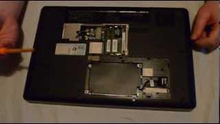 hp g62 disassembly