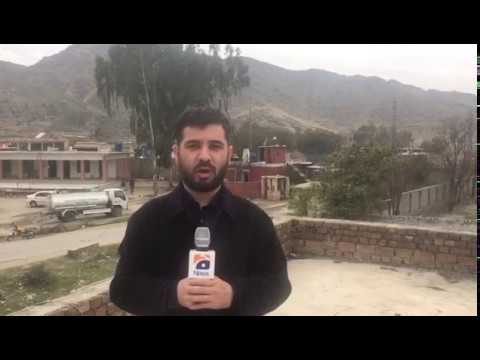 Mohmand Agency sucide attack as live Geo News