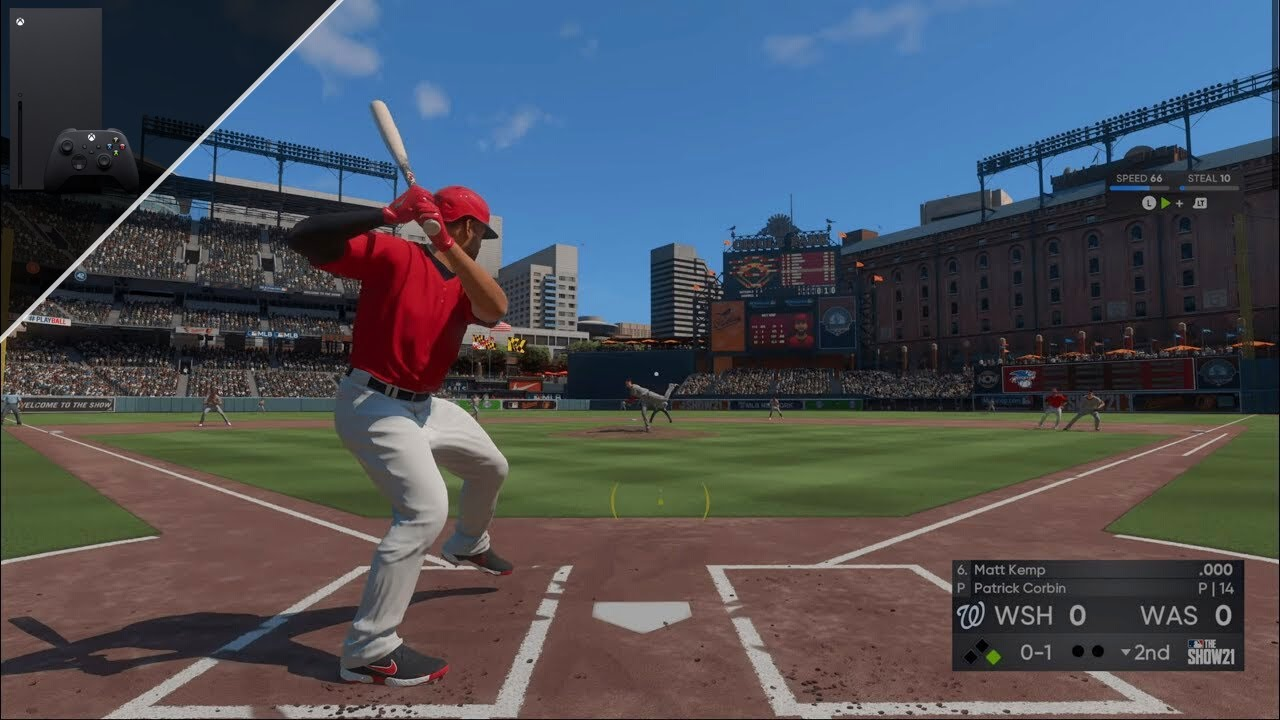 MLB The Show 21 Xbox Series X Gameplay [4k 60fps]
