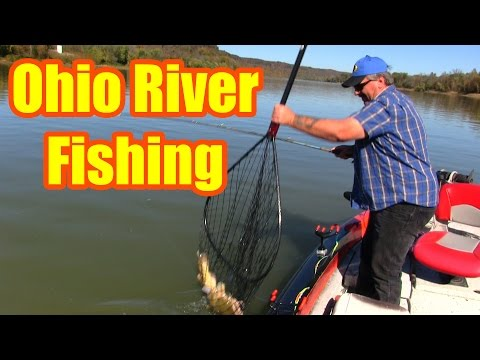 Ohio River Fishing: Anchoring On River Bends