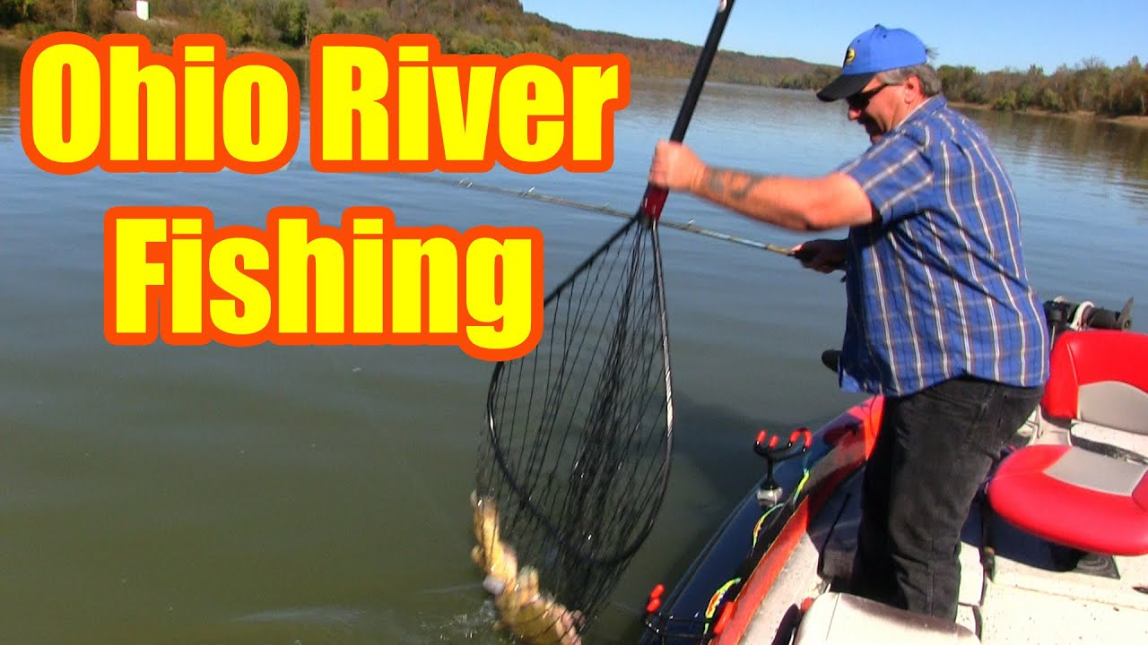 Ohio river fishing anchoring on river bends youtube for Ohio river fish