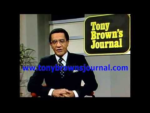 The Official Tony Brown's Journal -- First AIDS Whistle Blower