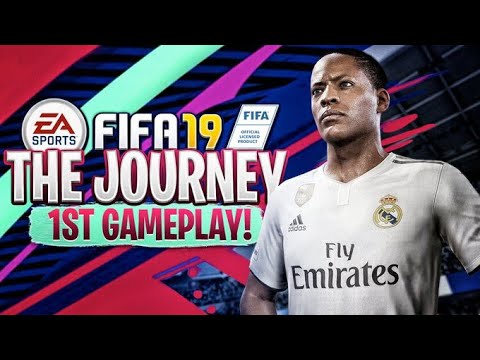FIFA 19 THE JOURNEY 1ST GAMEPLAY!