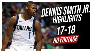 Mavericks PG Dennis Smith Jr. 2017-2018 Season Highlights ᴴᴰ