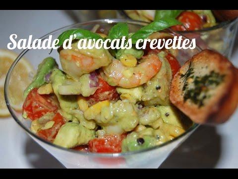 recette-salade-d'avocats-aux-crevettes