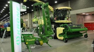 Krone Exhibit at the 2016 National Farm Machinery Show