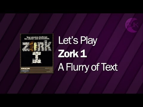 Let's Play Zork I: The Great Underground Empire