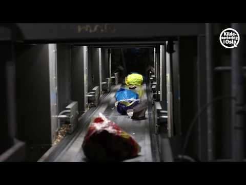 Optical sorting facility at EGE Oslo - with English subtitle