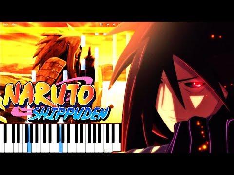 Naruto Shippuden - Madara's Death (Episode 474 OST)   Piano Tutorial, ナルト 疾風伝 【ピアノ】