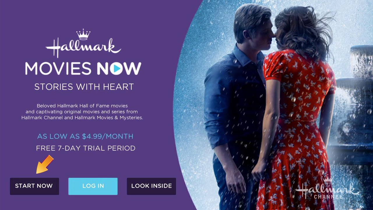 How To Connect Your Roku Hallmark Movies Now Youtube