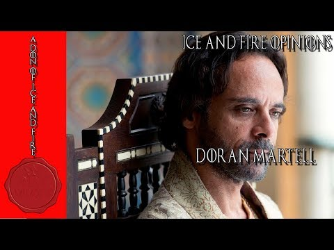 Ice and Fire Opinions: Prince Doran Martell + Q&A