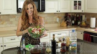 Favorite Summer Salad Recipe: Strawberry Walnut Feta Salad