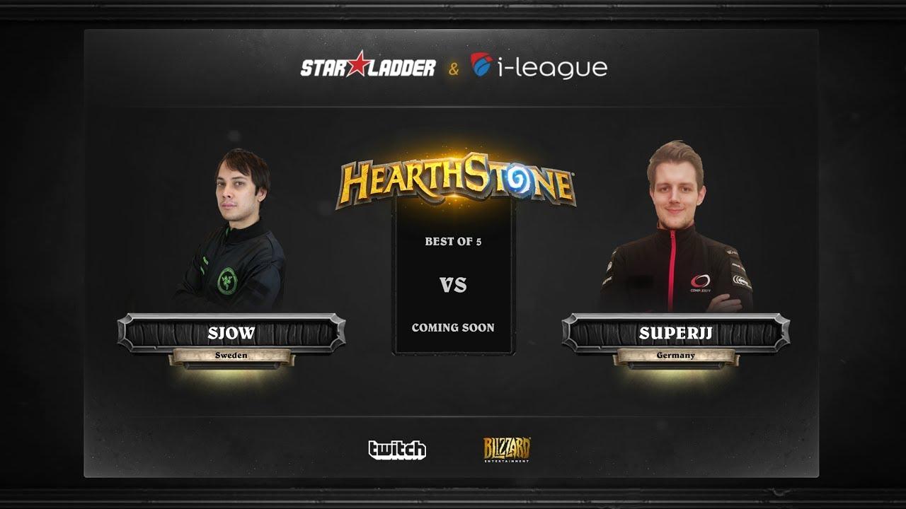 [EN] SjoW vs SuperJJ | SL i-League Hearthstone StarSeries Season 3 (26.05.2017)