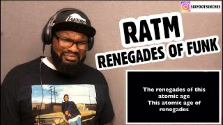 Download Lagu RAGE AGAINST THE MACHINE - Renegades of FUNK   REACTION mp3