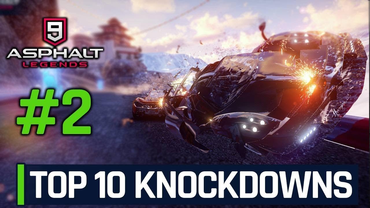 Download Asphalt 9 - Top 10 Knockdowns in MP (BC Series) - Episode 2