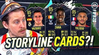 WHAT ARE THESE CARDS?! 85 STORYLINE ZAHA! FIFA 20 Ultimate Team