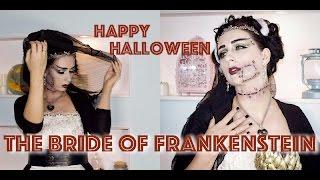 Грим на  HALLOWEEN: Невеста Франкенштейна. The Bride of Frankenstein.