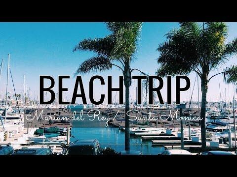 Marina del Rey and Santa Monica Pier! | nicolevlogsetc.
