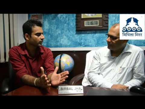 Exclusive interview with prominent English  writer Dr  Birbal Jha