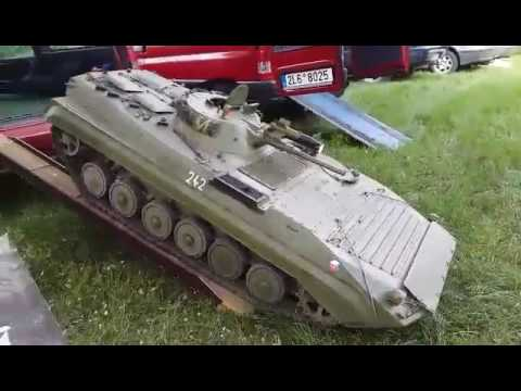 1:4 scale, BVP-1, big tanks