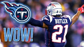 Tennessee Titans sign CB Malcolm Butler and RB Dion Lewis! 2018 NFL Free Agency