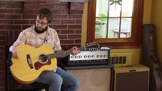 Guild 2512e Acoustic 12 String Guitar Demo / Review