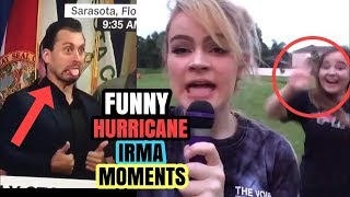 Scary First Video Miami hit by Irma Hurricane 2017, Florida - hurricane Irma aftermath