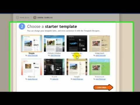 Creating A Blog With Google Blogger.com Free