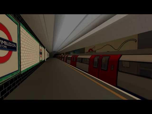OpenBVE HD: London Underground Northern Line 1995 Tube Stock