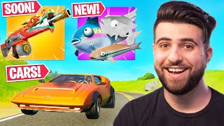 Everything Epic DIDN'T Tell You In The CARS Update! (NEW Shotgun, Floppers) - Fortnite Season 3