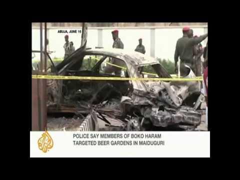 Nigerian city rocked by new blasts.