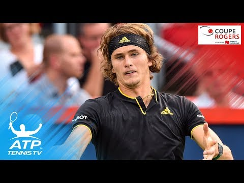 Best Moments in Zverev vs Kyrgios | Coupe Rogers Montreal 2017