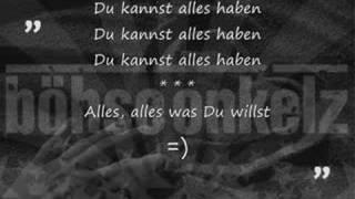 Du Kannst Alles Haben | Böhse Onkelz (1995)