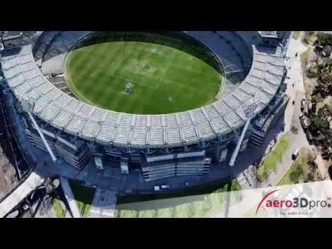 Melbourne Cricket Ground (MCG) Realistic 3D Model - Aero3Dpro - Captured 31st August 2012
