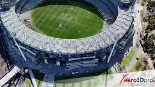 Melbourne Cricket Ground (MCG) realistic 3D model - aero3Dpro - captured 31st August 2012
