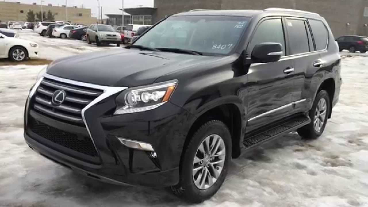 new black 2015 lexus gx 460 4wd executive package review central edmonton youtube. Black Bedroom Furniture Sets. Home Design Ideas