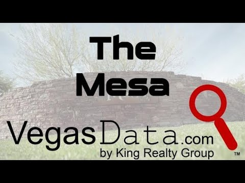 The Mesa, Mountain Side Residences - Las Vegas, NV
