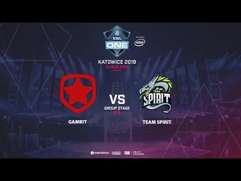 Team Spirit vs Gambit - ESL One Katowice - Game 5