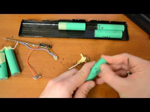 Разбираем и тестируем аккумулятор ноутбука Asus c Алиэкспресс и получаем 18650