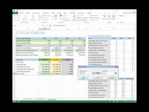 solving transportation problem using excel solver pdf