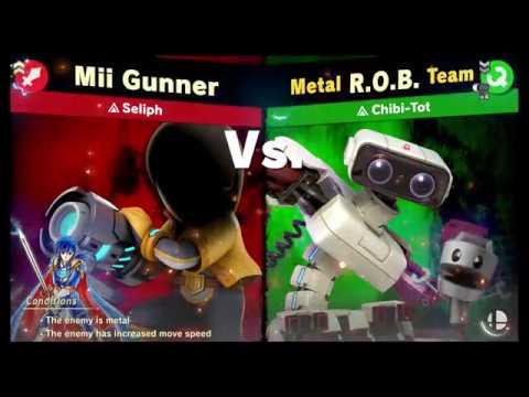 Super Smash Bros Ultimate: Eric (My Mii) VS  Spirits - Part 1