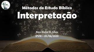Estudo 4 - A Interpretação