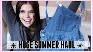 HUGE SUMMER HAUL + Brandy Melville | Griffin Arnlund
