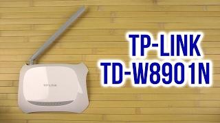 Розпакування TP-LINK TD-W8901N