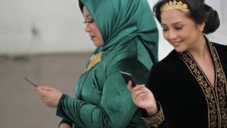Pemotretan OST Kartini - Melly Goeslaw & Gita Gutawa