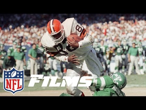 #6 Ozzie Newsome | Top 10 Tight Ends of All Time | NFL Films
